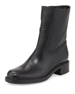 Gucci - Maud Leather Ankle Boots