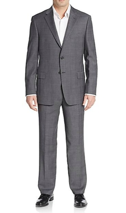 Hickey Freeman - Sharkskin Wool Suit