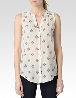 Paige Denim - Birch Nixie Print Bonnie Top