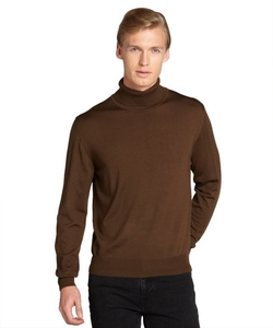 Brioni - Wool Ribbed Turtleneck Sweater