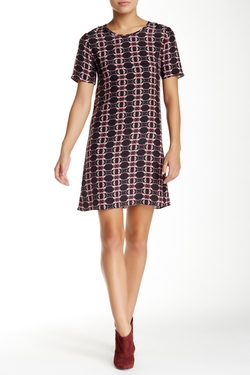 Waverly Grey - Dexie Printed Silk Dress