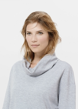 Mango - Cowl Turtle Neck Sweatshirt