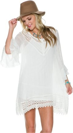Swell - June Crochet Peasant Dress
