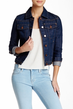 Genetic Denim - Janna Cropped Denim Jacket