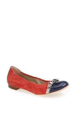 Attilio Giusti Leombruni  - Toe Cap Ballet Flat Shoes