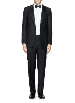 Canali - Wool-Mohair Tuxedo Suit