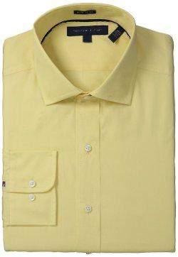 Tommy Hilfiger - Regular Fit Solid Bright Dress Shirt