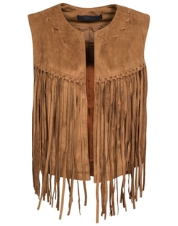 Only - Biza Fake Suede Vest