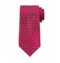 Charvet  - Floral-Pattern Neat Silk Tie