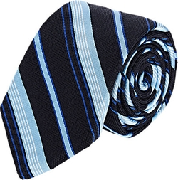 Barneys New York  - Diagonal-Striped Jacquard Necktie