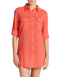 Lauren Ralph Lauren  - Cotton Camp Shirt