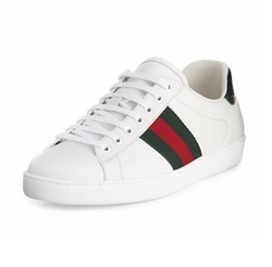 Gucci  - New Ace Leather Low-Top Sneakers