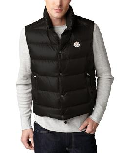 Moncler  - Tib Puffer Vest, Black