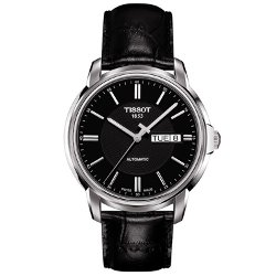 Tissot  - Automatic III Black Dial Mens Watch