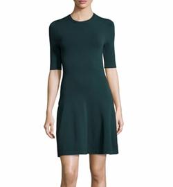 Grey By Jason Wu - Dropped-Waist Knit Dress