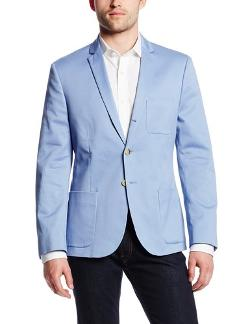 pale blue suit jacket suit la