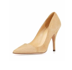 Kate Spade New York  - Licorice Suede Point-Toe Pumps