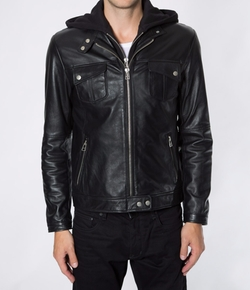 7 Diamonds - Los Angeles Leather Jacket