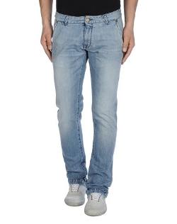 Purple Sartorial Denim - Straight Leg Denim Pants