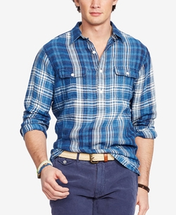 Polo Ralph Lauren - Plaid Popover Shirt