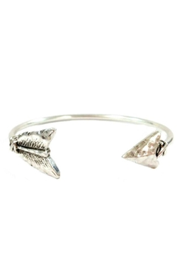 Icon Collection - Open Arrow Cuff Bracelet