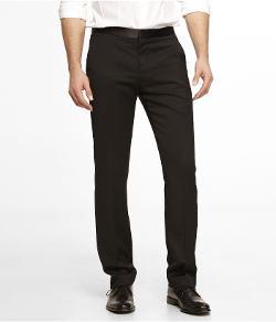 TOPMAN - Black Tuxedo Pant