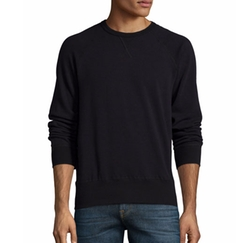 7 For All Mankind  - Crewneck Raglan-Sleeve Sweatshirt