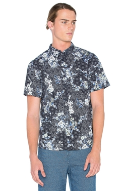 Floral Sashiko Shirt  - Native Youth