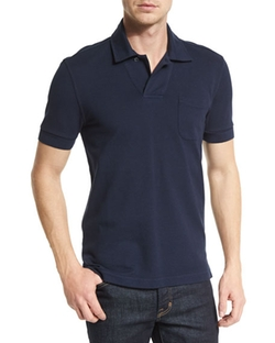 Tom Ford - Short-Sleeve Polo Shirt
