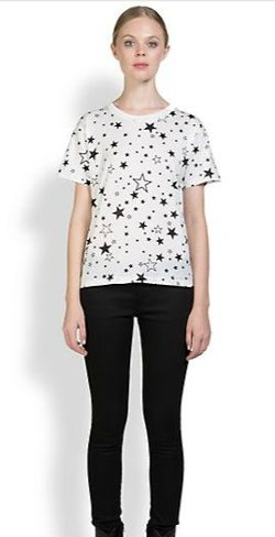 Saint Laurent - Star Print Tee