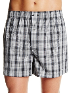 Kenneth Cole New York - Classic Plaid Woven Boxer Shorts