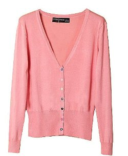 Chicnova - Pastel V-Neck Cardigan