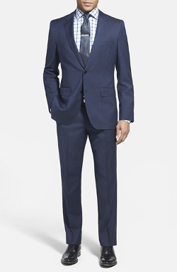 Boss Hugo Boss - Trim Fit Herringbone Suit