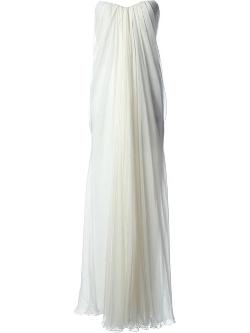 Alexander McQueen - Draped Bustier Gown
