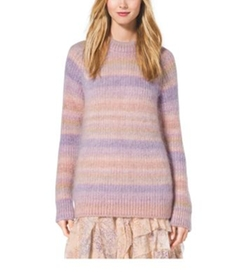 Michael Kors Collection - Ombré Mohair And Silk Sweater