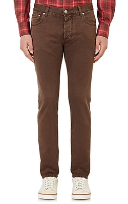 Isaia - Five-Pocket Jeans