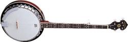 Oscar Schmidt  - Gloss Mahogany 5-String Banjo