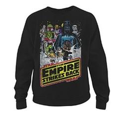 Fifth Sun - Star Wars Empire Strikes Back Mens Graphic Sweatshirt