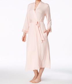 Oscar De La Renta - Lace-Trim Robe