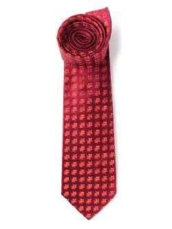 Kiton  - Square Print Tie