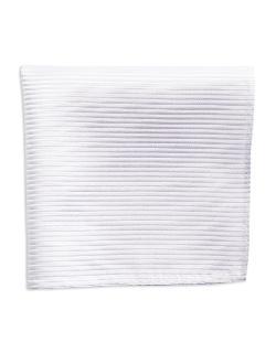 Black Brown 1826  - Striped Silk Pocket Square