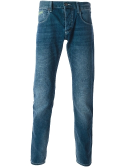 Armani Jeans  - Stone Washed Straight Jeans