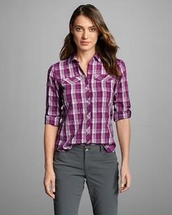 Eddie Bauer - Mountain Long-Sleeve Plaid Shirt