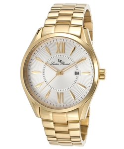 Lucien Piccard - Orion Gold-Tone Stainless Steel Silver-Tone Dial Watch