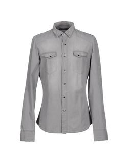 Arsenal Uomo - Classic Neck-Line Denim Shirt