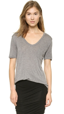 T by Alexander Wang - Classic T Shirt with Pocket