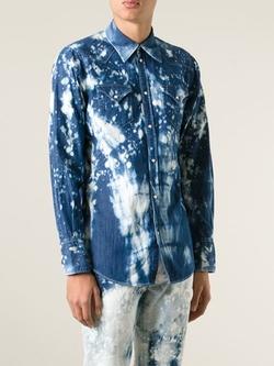 Dsquared2   - Distressed Denim Shirt