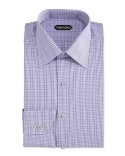 Tom Ford - Check-Pattern Dress Shirt