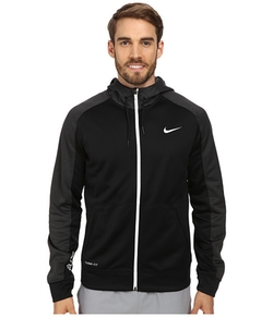 Nike - Elite Stripe Full-Zip Performance Fleece Hoodie