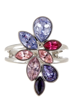 Swarovski - Tody Purple Swarovski Crystal Ring